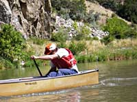 Canoe Colorado River Race