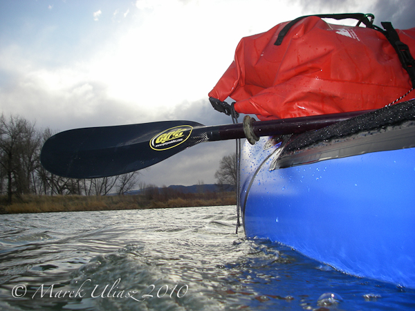 alpacka yukon packraft with drybag