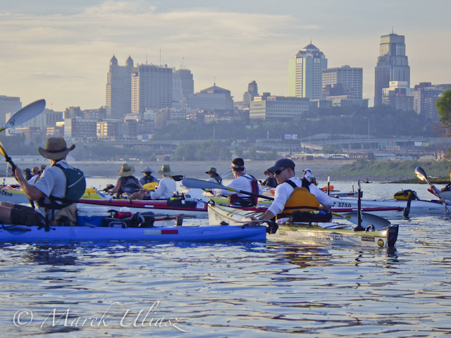 Missouri River 340 Race start