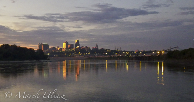 Kansas City from Kaw Point