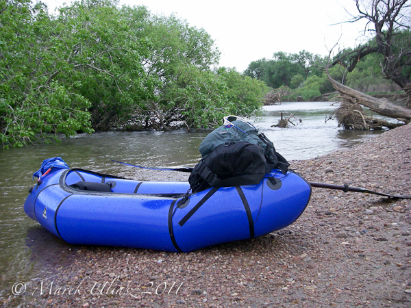 packraft - Wildcat Run on South Platte RIver