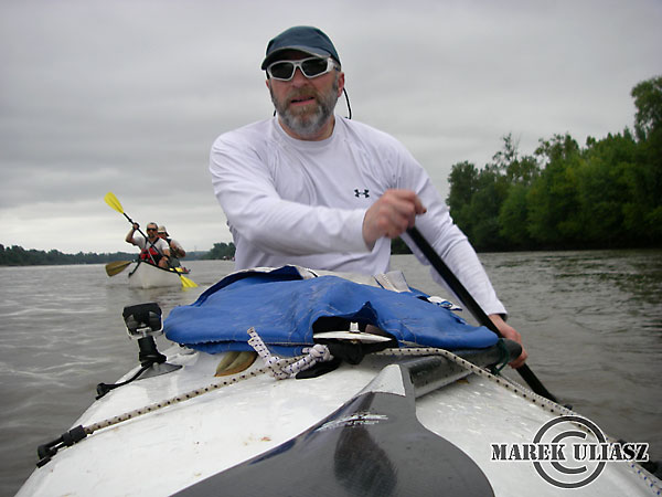 2010 MR340 race with Sea Wind canoe