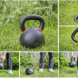 62 lb competition kettlebell