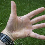 paddler hand after long race